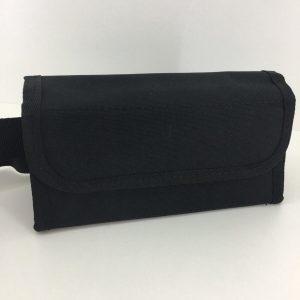LeonDesign - 1000007 - horeca portemonnee - sterk nylon materiaal 20 x 6.5 cm INCLUSIEF MUNTHOUDER - zwart
