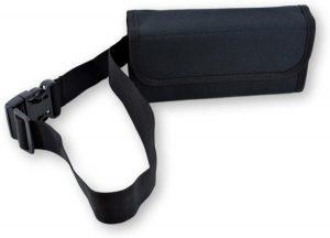 LeonDesign - 2045 - horeca portemoneee - met 8 gaats horeca munthouder - met heupband - zwart - sterk nylon