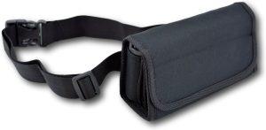 LeonDesign - 2065 - horeca portemoneee - met 8 gaats horeca munthouder - met heupband - zwart - sterk nylon