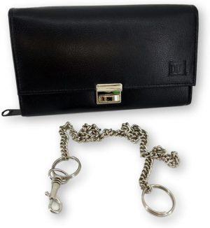 LeonDesign - DD-01V601 - horeca portemonnee - Zwart -leer