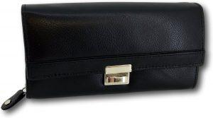 LeonDesign - DD-01V601 - horeca portemonnee - zwart - leer