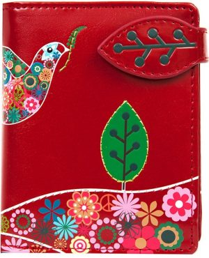 SHAGWEAR portemonnee Peace dove rood - 0905sm