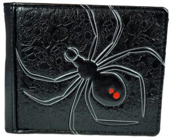 Shagwear Stoer & Funky Mannen Portemonnee - Black Widow / Spin (0307)