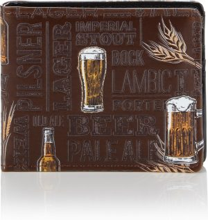 Shagwear Stoer & Funky Mannen Portemonnee - Craft Beer / Ambachtelijk Bier (009736W)