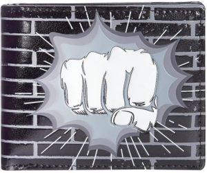 Shagwear Stoer & Funky Mannen Portemonnee - Fist Punch / Vuist (009888W)