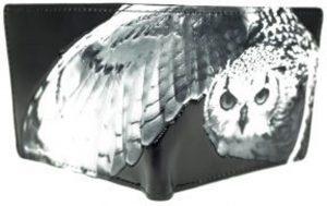 Shagwear Stoer & Funky Mannen Portemonnee - Owl / Uil (0229W)