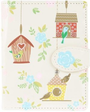 Shagwear Trendy & Funky Compact Vrouwen Portemonnee - Birdie Retreat / Vogelhuisje (009982Csm)