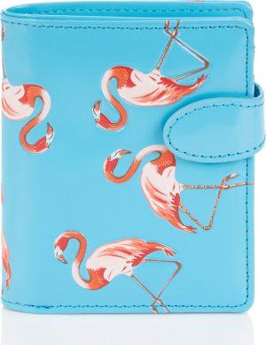 Shagwear Trendy & Funky Compact Vrouwen Portemonnee - Flamingo (0337sm)