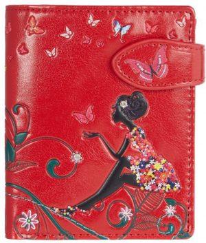 Shagwear Trendy & Funky Compact Vrouwen Portemonnee - Oasis Butterfly / Vlinder (0379sm)