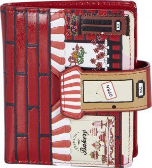 Shagwear Trendy & Funky Compact Vrouwen Portemonnee - Vintage Bakery / Bakkerji (0549sm)