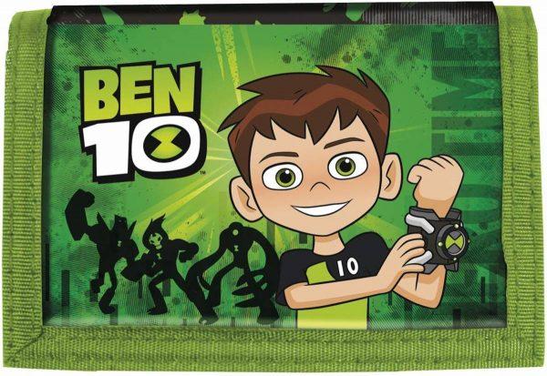 Ben 10 Hero Time - Portemonnee - 12 x 8 cm - Groen