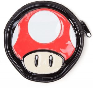 Nintendo - Mushroom Shaped - Muntzakje - Rood