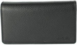 BURKELY Dubbel Flap Black - Portemonnee - Zwart