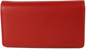 BURKELY Dubbel Flap Red - Portemonnee - Rood