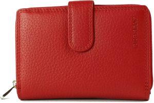 BURKELY Multipocket Red - Portemonnee - Rood