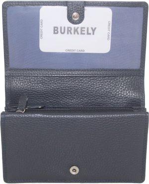 Burkely dames portemonnee souffle Blauw innuendo