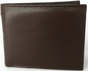Lundholm - Heren leren portemonnee heren bruin - soepel leer | veel pasruimte