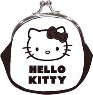 knip portemonnee - Hello Kitty - zwart witte vlakken