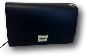 LeonDesign - 01D605 - horeca portemonnee - zwart - leer