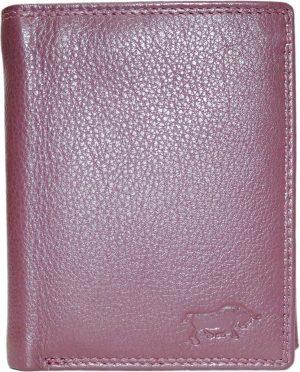 Bordeaux rode rundleren billfold euro portemonnee met bakje voor kleingeld met druksluiting en 2 vakken voor briefgeld