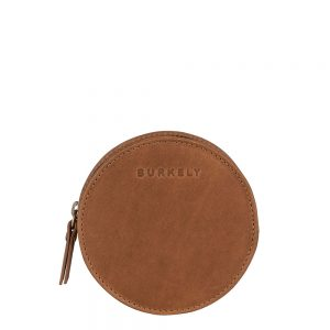 Burkely Desert Daisy X-Over Wallet Round Tan