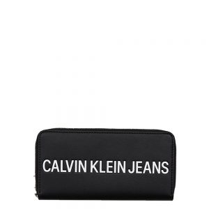Calvin Klein Sculpted Zip Around black