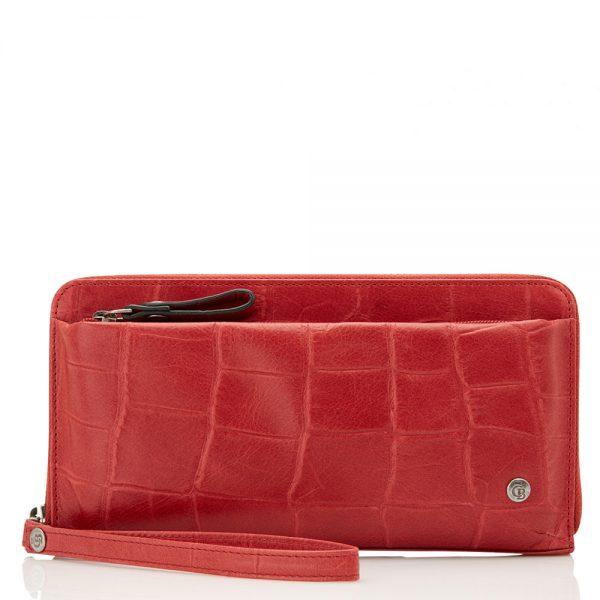 Castelijn & Beerens Cocco RFID Smartphone Rits Portemonnee Rood 5514