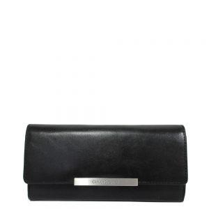 Claudio Ferrici Classico Tri-Fold Portemonnee L Black