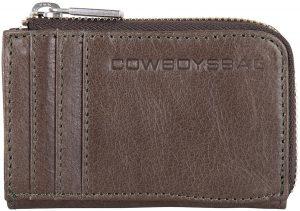 Cowboysbag Muntgeld portemonnees Wallet Upton Grijs