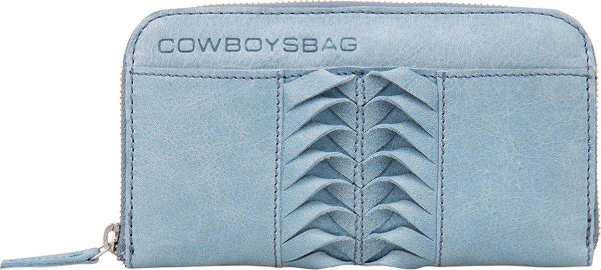 Cowboysbag Purse Silverbrook Portemonnee Milky Blue