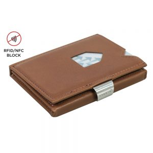Exentri Wallet met RFID Bescherming Hazelnut