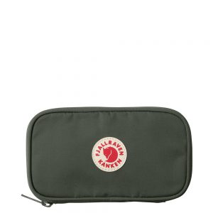 FjallRaven Kanken Travel Wallet Deep Forest