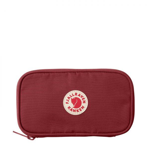 FjallRaven Kanken Travel Wallet OX Red