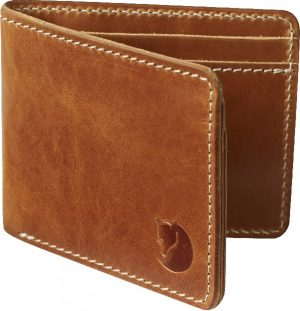 Fjallraven Zip Unisex Portemonnee - Leather Cognac