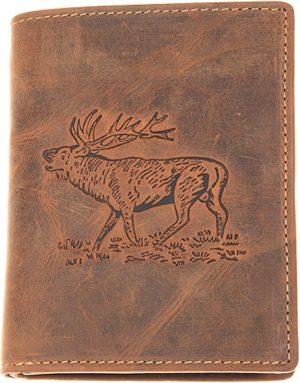 Greenburry - Vintage Animal - portemonnee heren - bruin