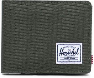 Herschel Supply Co. Bi-fold portemonnees Roy Coin Wallet Groen