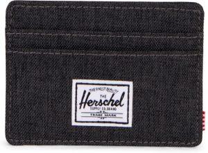 Herschel Supply Co. Charlie Portemonnee - Black Crosshatch