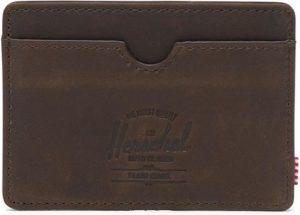 Herschel Supply Co. Charlie Portemonnee - Nubuck Brown