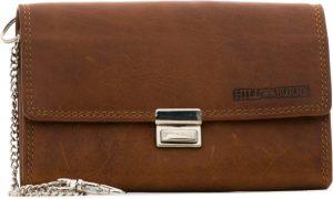 HillBurry - VL777035 - 5077 - horeca - kelner - portemonnee - bruin - leer