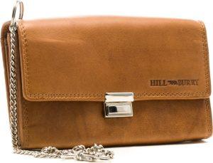 HillBurry - VL777043 - 5076 - horeca portemonnee - bruin - leer