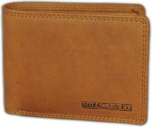 Hillburry VL88817 Leren Heren Portemonnee - Billfold Model - Bruin