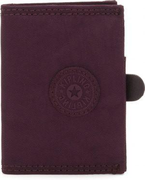 Kipling Card Keeper Portemonnee - Dark Plum