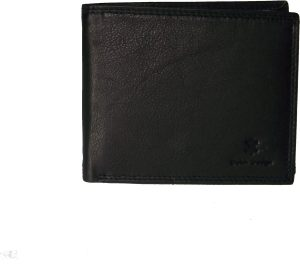 Leren heren portemonnee voor 5 creditcards