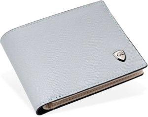 Luxe Licht Grijze Monte Carlo Bao Model Portemonnee - Portefeuille - Heren Billfold