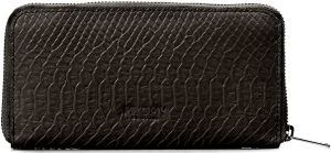 MYOMY MY PAPER BAG - Wallet large - portemonnee - Anaconda Black