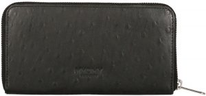 MYOMY My Paper Bag Wallet portemonnee ostrich black