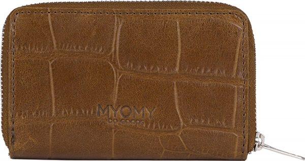 MYOMY My Paper Bag portemonnee M croco original