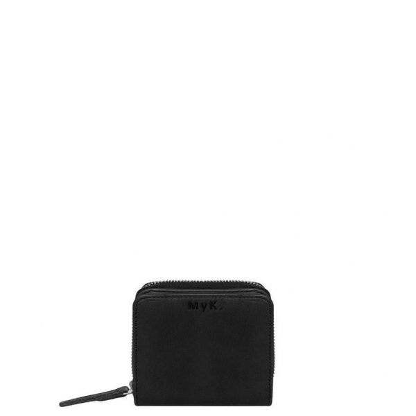 MyK Sparkle Purse Black