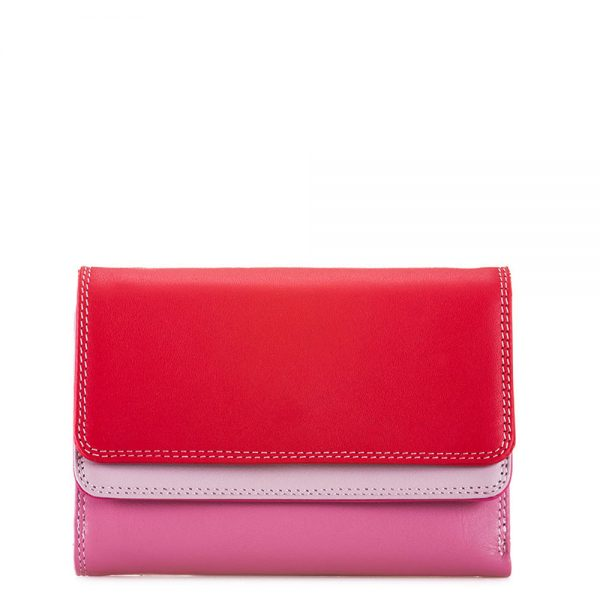 Mywalit Double Flap Purse Portemonnee Ruby
