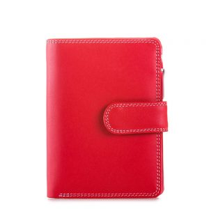 Mywalit Medium Snap Wallet Portemonnee Ruby